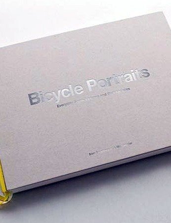 The current design of the Bicycle Portraits book
