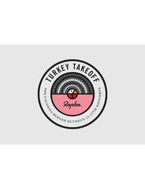 Rapha's Turkey Takeoff badge