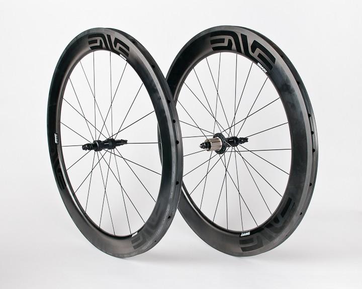 The English-Enve Aero wheelset costs $2,600