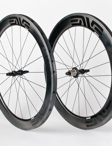 The English-Enve Aero wheelset costs $2,600