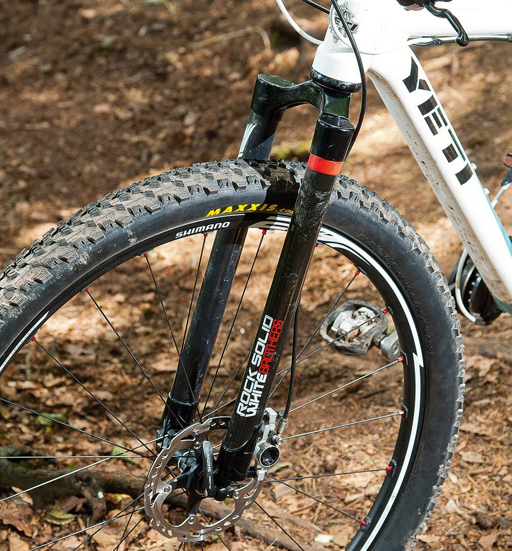 White Brothers Rock Solid rigid fork
