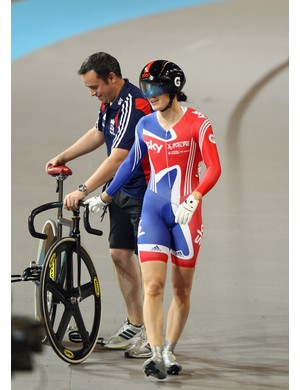 Victoria Pendleton: walking away from track cycling will be tough