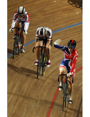 Victoria Pendleton on top of her game