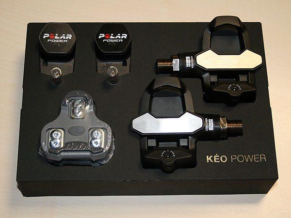 Look Keo Power pedals, Polar G5 GPS