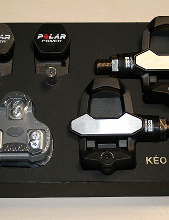 Look's Keo Power is billed as the world's first power measuring pedal