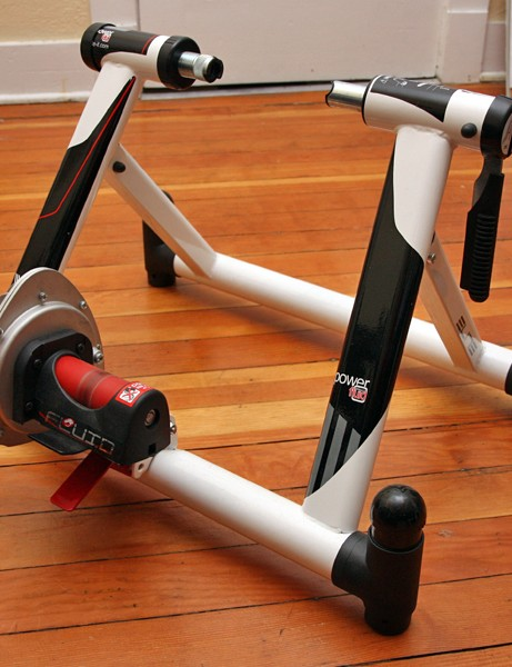 The Elite Power Fluid Ritmo stationary trainer is a good option for strong riders looking for a serious workout