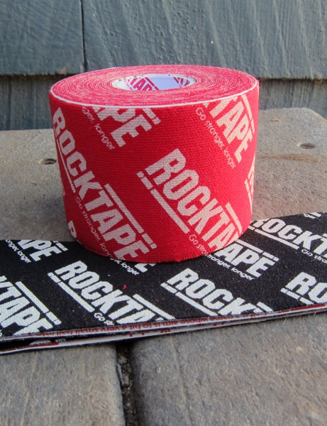 Rocktape offer kinesiology tape in several different sizes and a wide range of colors