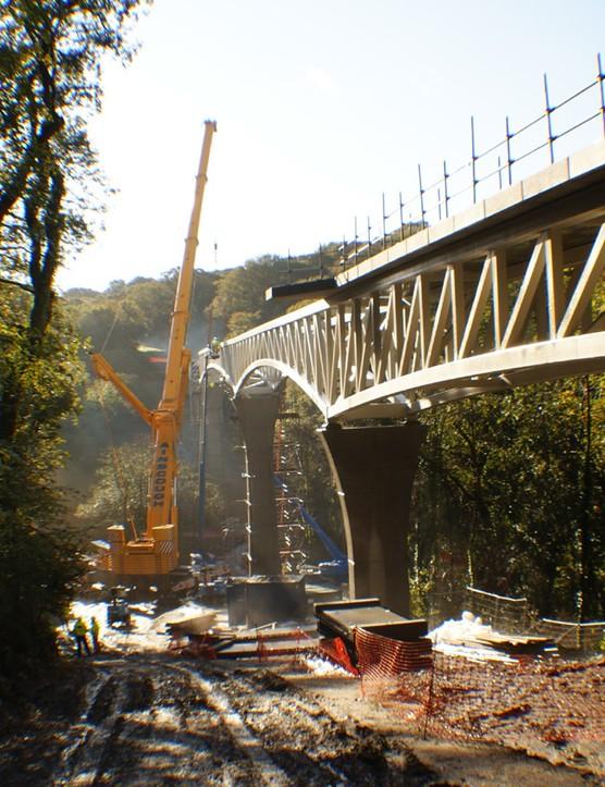 Gem bridge in Devon