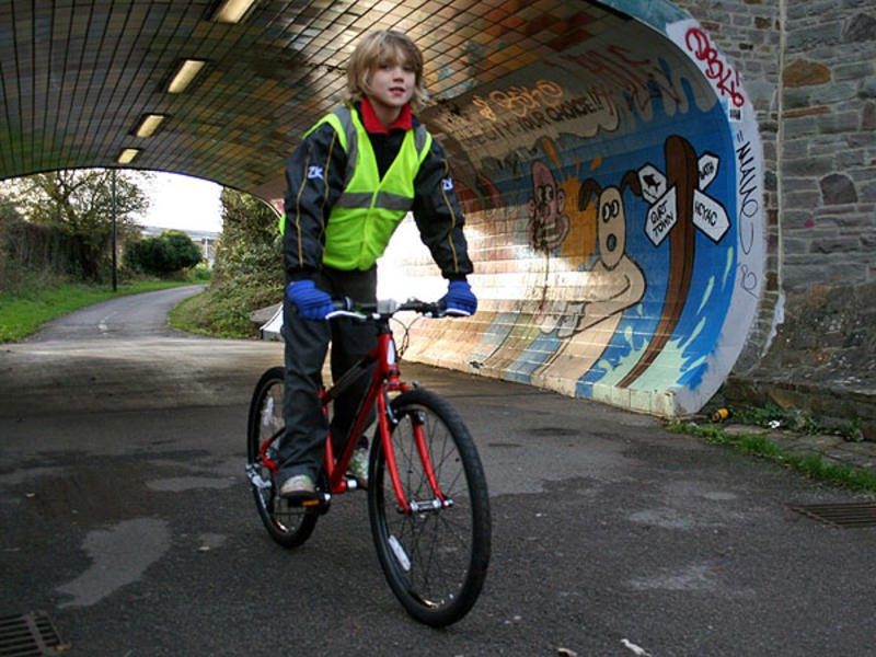 BikeRadar headed back to school for the day