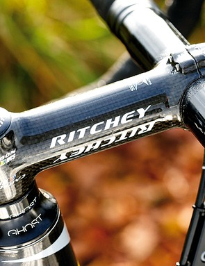Classy kit includes a Ritchey WCS stem