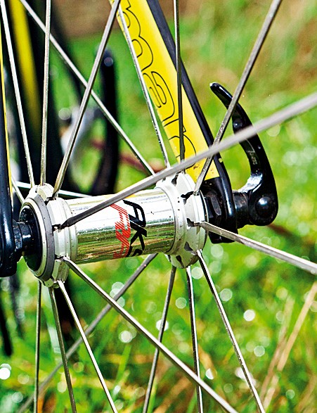 Mavic Aksiums are great wheels on a bike at this price