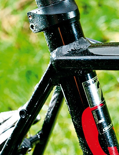 Frame mounts mean the Defy is ready to take a rear rack