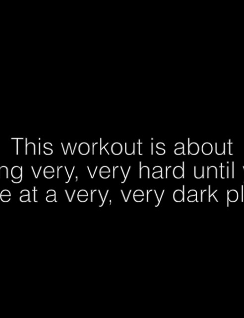 The Sufferfest peg 'A Very Dark Place' as one of their toughest workouts