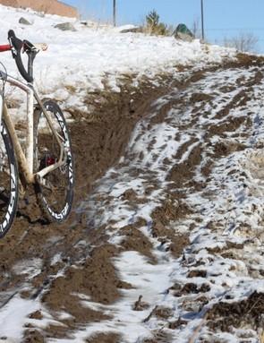 The CruX E5 Disc loves mud