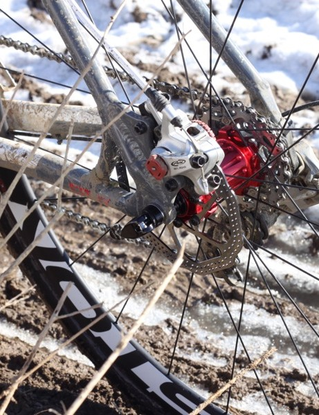 We rode our CruX with Avid's mechanical BB7 brakes