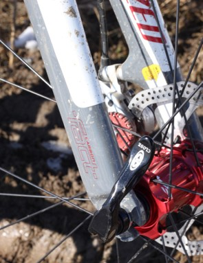 Specialized's FACT disc fork offers impressive clearance and excellent handling