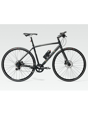 The all-carbon urban/off-road Bianchi by Gucci bike