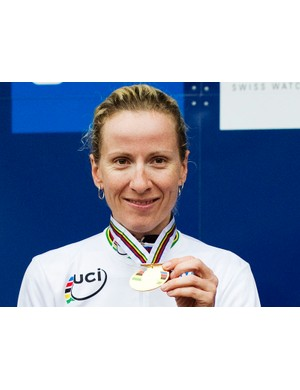 World time trial champion Judith Arndt will head the new GreenEdge-AIS women's team
