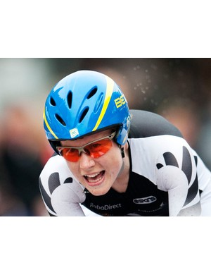 Linda Villumsen, second place in this year's world TT champs