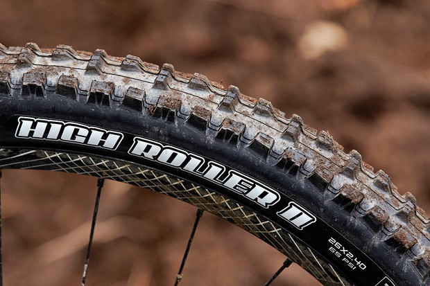 Maxxis High Roller II 2.4in tyre