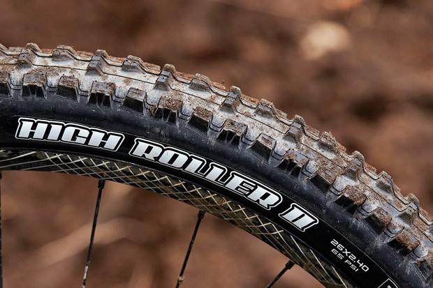 Maxxis High Roller II 2.4in tyre