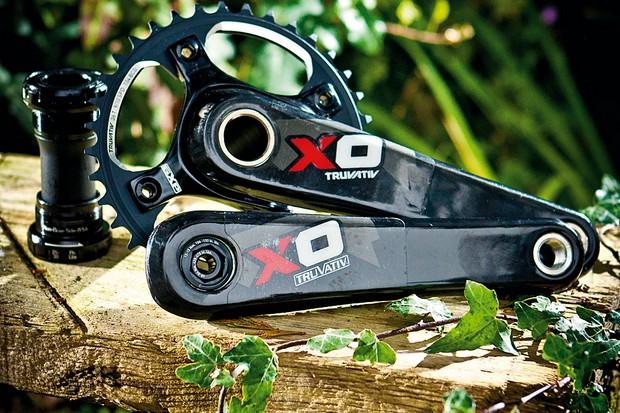 Truvativ X0 DH crankset