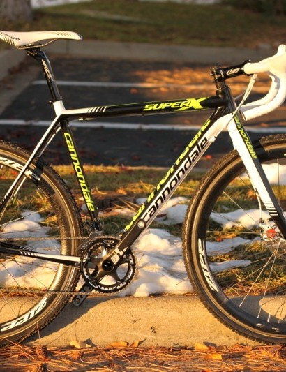 Tim Johnson's Cannondale Super X Disc prototype