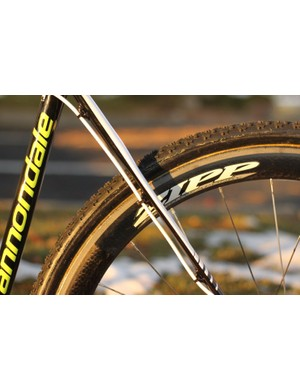 By moving the brakes from the bike's seatstays, Cannondale is able to further refine the bike's ride and comfort