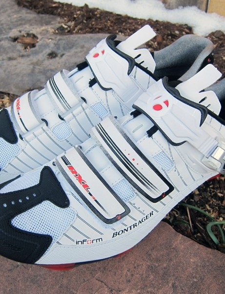 Bontrager's new RXL MTB shoes provide a much improved fit compared to earlier models
