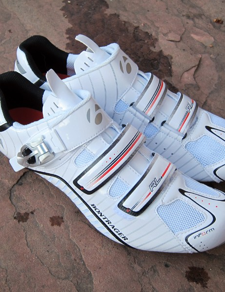 The Bontrager RL Road shoes offer the same refined inForm Pro fit as top-end models but at a much lower price