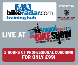 BikeRadar's training hub to debut at London Bike Show