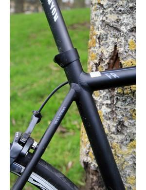 The basalt fibre seat post provides extra cush
