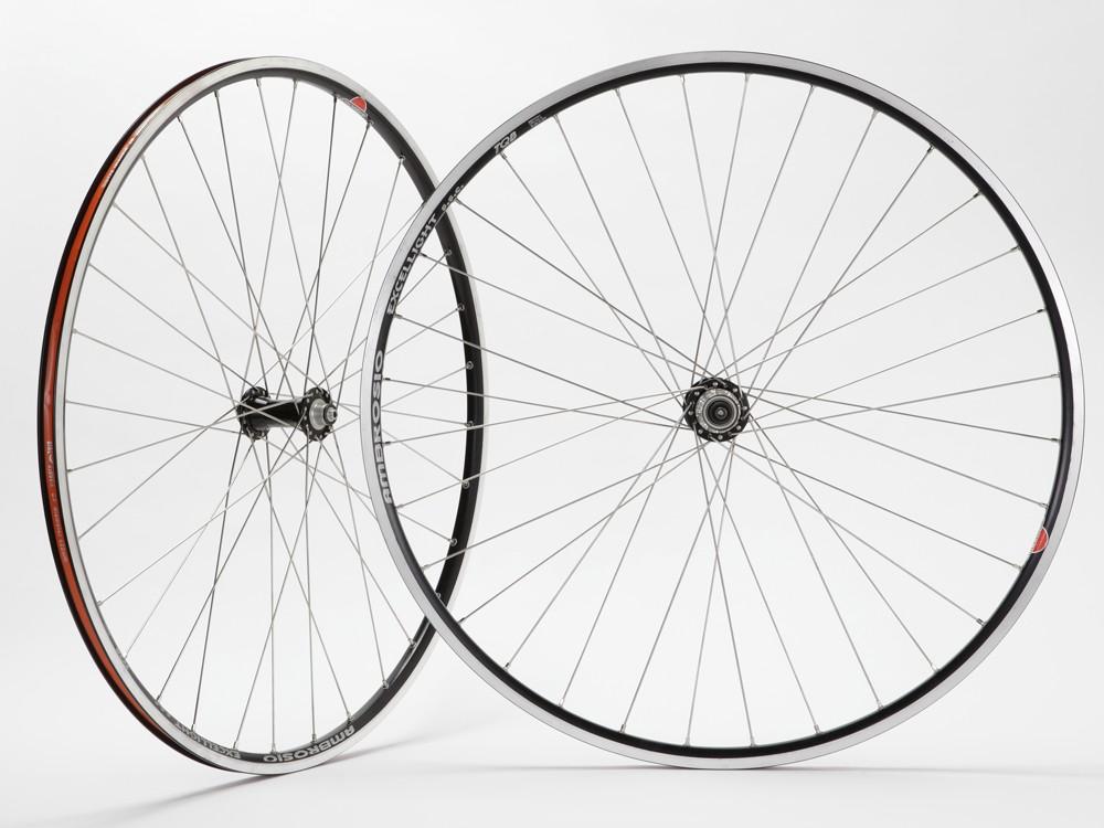 Paul Hewitt Miche Primato / Ambrosio Excellight road wheelset