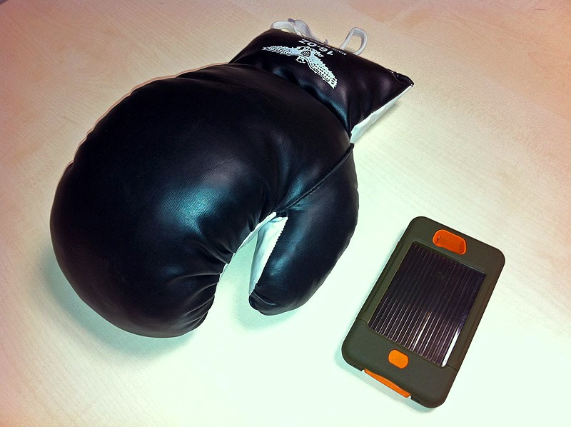 Case-Mate TANK with single boxing glove