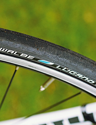 Schwalbe's tough tyres add survivability without diminishing speed or smooth feel
