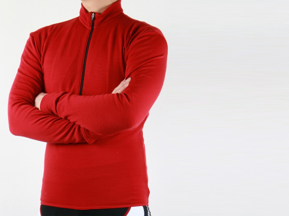Wabi Woolens' new Sport Series jerseys feature a more refined fit than earlier Adventure Series models plus a sleeker all-wool fabric