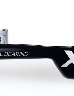 The new shifter gets XX and X0's ball bearing pivot design for the cable pull lever