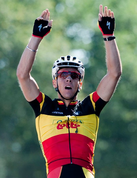 Philippe Gilbert won Cyclingnews' Best Rider of the Year poll in 2011
