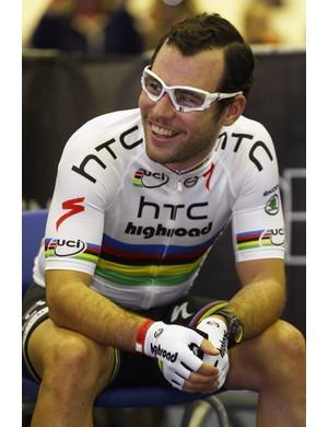 Mark Cavendish was voted third best rider of 2011
