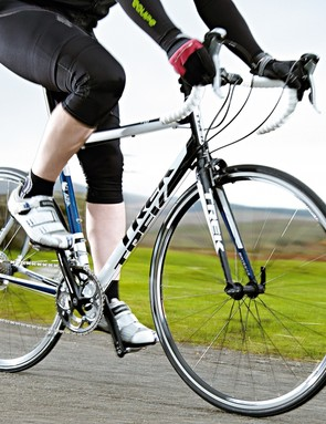 The Trek is a comfortable place to be when you're commuting or putting the long miles in at the weekend