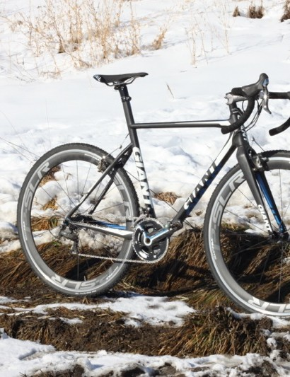 Giant's TCX Advanced SL proved very capable in the mud