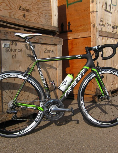 1t4i riders will compete on fetching black-and-neon green Felt machines for 2012.