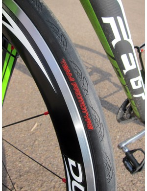 1t4i tire sponsor Vittoria is already tapping team riders for prototype testing.