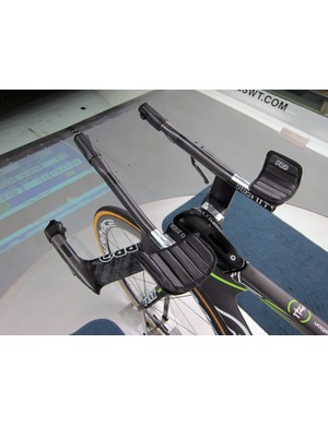 Aerobar positions range from very narrow to surprisingly wide - all based on power and aero data.