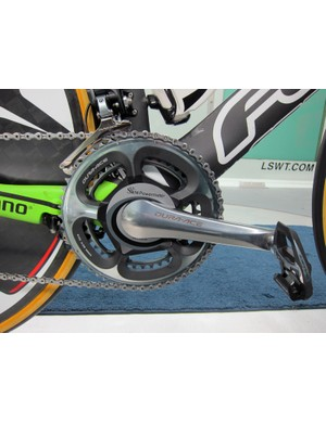1t4i team bikes are equipped with SRM power meters.