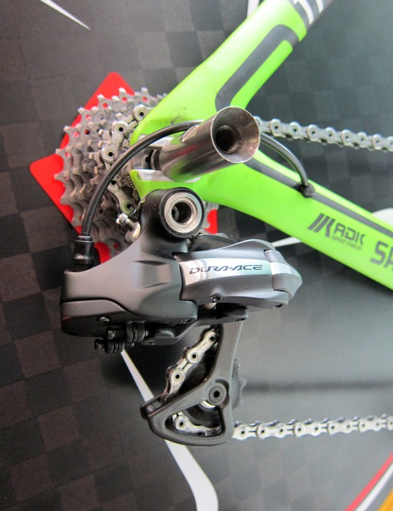 14ti is using Shimano Dura-Ace Di2 electronic groups for both its road and time trial bikes.