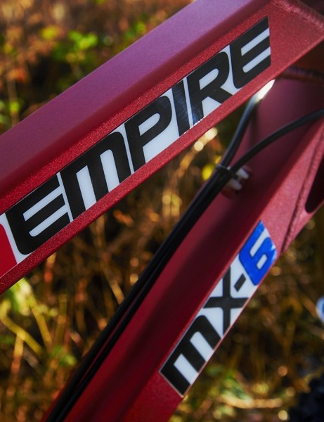 Empire experimented with a machined front end but eventually settled on oversized rectangular tubes