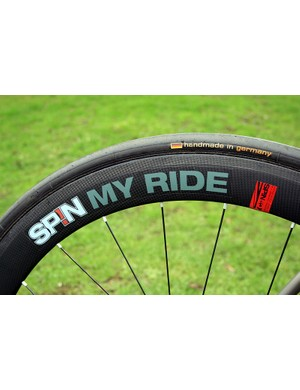 Spin's Supersonic 50T carbon tubulars, with the option of DT Swiss or Sapim spokes.