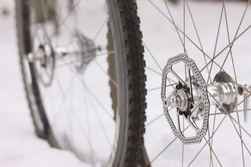 Disc brakes are the future for all bikes, even those equipped with carbon tubular rims