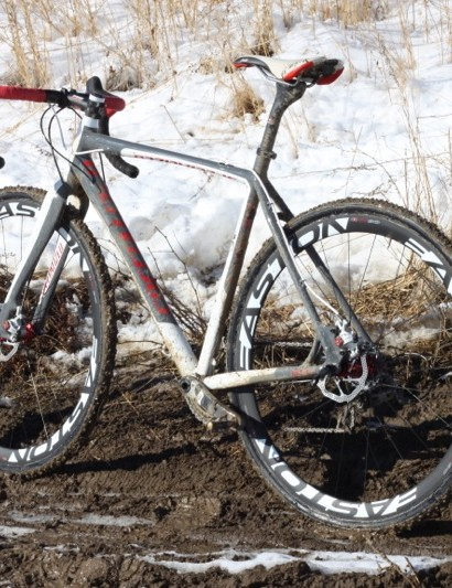 We spent lots of time on Specialized's CruX Disc this season